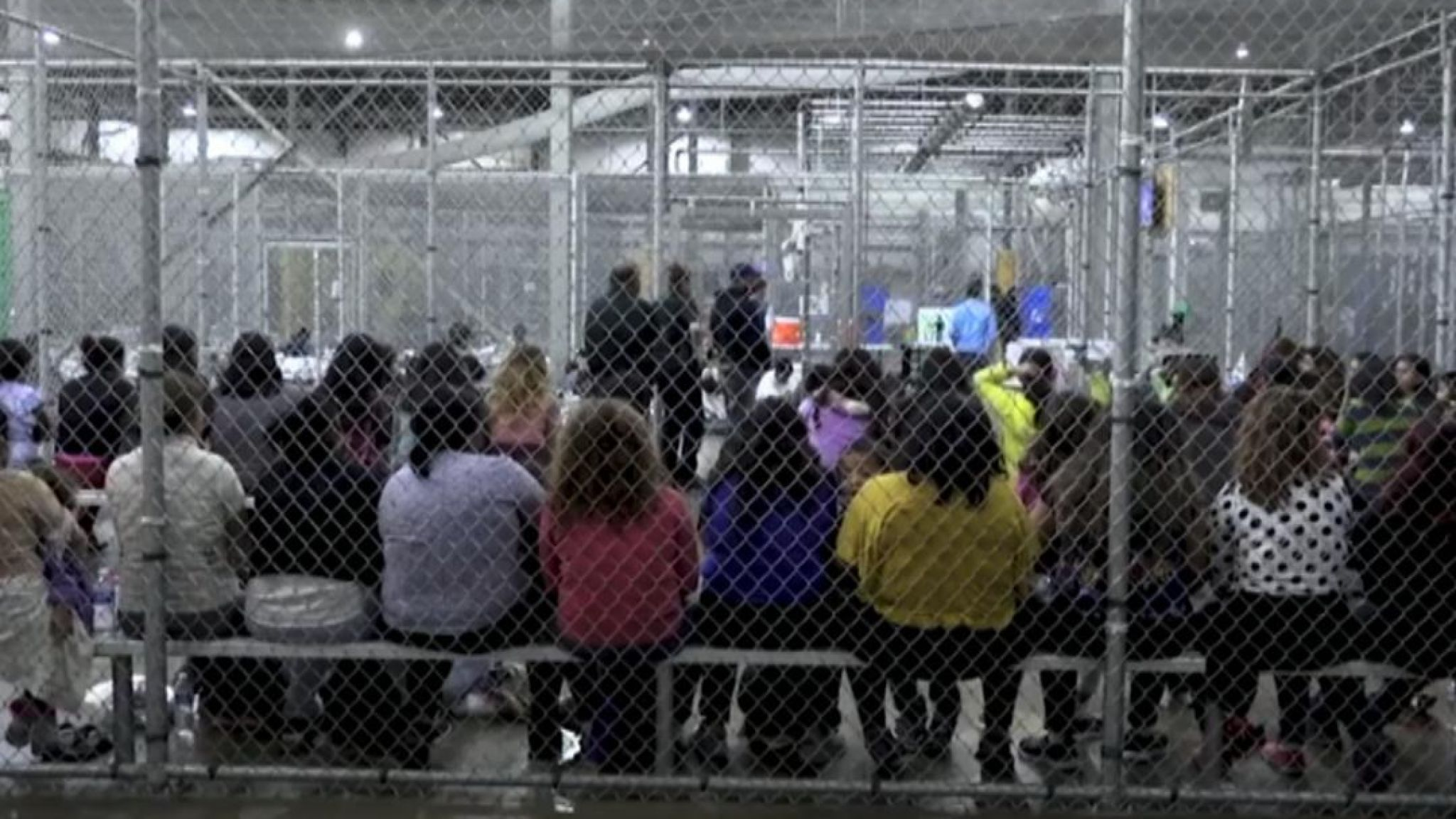 Immigrant Children in Cages